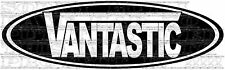 Vantastic 30x96cm vw splitty type 2 T25 T4 T5 vans sprinter decal autocollant vinyle