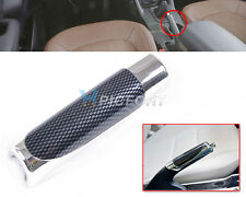 Universal Car Carbon Fiber Style Hand Brake Protective Handle Cover Decor Cover