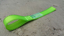 (GREEN) WINCH HOOK STRAP (made in SA) for 4WD / 4x4, Winch Safety & Recovery