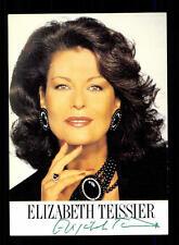Elisabeth Teissier Autogrammkarte Original Signiert # BC 65162