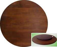 "Dark Cherry Lazy Susan By Crown Mark 22"" Diameter"
