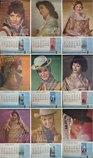 PAN AMERICAN AIRLINES CARGO CALENDAR 1963 Vintage 13 pages TRAVEL poster 25x45