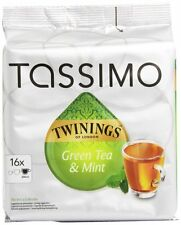 Tassimo Twinings Green Tea & Mint, 16 T-Discs, FREE SHIPPING