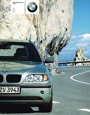 HUGE 2002 BMW 3 SERIES Catalog / Brochure w/ Color Charts; 325i,325xi,330i,330xi