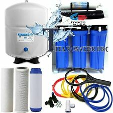 5 Stage Reverse Osmosis Drinking Water Filter System 150 GPD-Booster Pump - USA