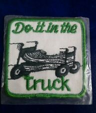 VINTAGE DO IT IN THE TRUCK CB RADIO PATCH