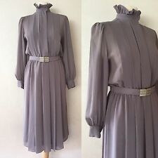 True Vintage Late 70's/Early 80's Parigi Florence Retro Secretary Dress