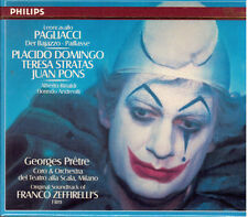 Leoncavallo : Placido Domingo, Juan Pons, Stratas, George Pretre /  - CD Philips