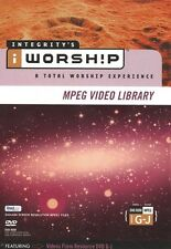 iWorship MPEG Video Library G-J DVD-ROM - Brand New