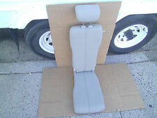 2015 Toyota Sienna Beige Tan Bisque Leather Middle Jump Seat