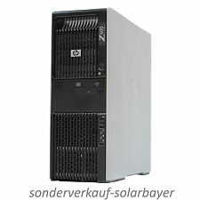 HP Z600 PC Workstation 2x Xeon Quad Core E5630 Ram 16GB HDD 250GB Quadro 600 W7