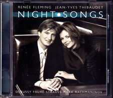 Renee Fleming & Thibaudet: Night canzoni Faure Debussy Marx Strauss Rachmaninov CD