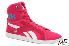 New Reebok TOP DOWN SNAPS TXT Women Fashion Sneakers Sz. 8 -  V55473 Pink