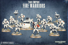 NEW Games Workshop Warhammer 40K Tau Empire Fire Warriors SEALED