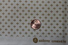 """""""MILL RUN SHIRTINGS"""" REPRODUCTION QUILT FABRIC BY THE YARD FOR ANDOVER 7827-NY"""