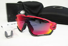 New OAKLEY Jawbreaker Asia Fit Redline / + Red Iridium Sunglasses OO9270-03