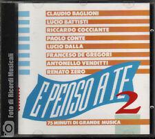 E PENSO A TE 2 Baglioni/Battisti/Cocciante/Paolo Conte/De Gregori/Venditti M/M