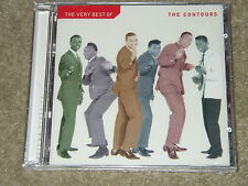 """The Contours """"The Very Best"""" Rare Out Of Print (OOP) MOTOWN  Brand New Sealed CD"""