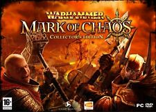 Warhammer Mark of Chaos Collector's Edition pour pc Namco bandai ,Comme Neuf
