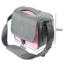 Pink Camera Bag Case F Canon Rebel T5i T4i T3i T2i EOS 700D 650D 600D 550D DSLR