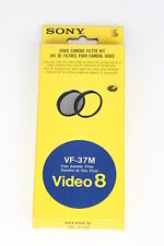 Sony vf-37m video 8 FILTRI KIT ø37mm, 1x nd-8, 1x MC Filtro di protezione con OVP