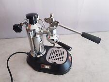 La Pavoni Professional Siebträger Espressomaschine Silber mit Hebel Lusso retro