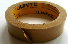 25mm x 25m Brown Self Adhesive Backing Tape Picture Framing Canvas Craft Kraft