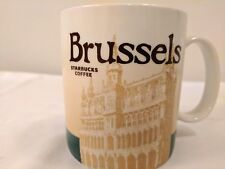 Starbucks 2011 Brussels Global Collector ICON Series State Mug 16 Oz