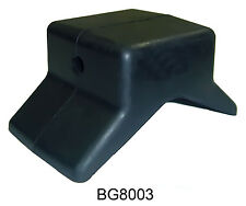 "MULTIFLEX Rubber 4"" Inch Bow Stop Roller Y for 1/2"" Shaft Boat Trailer"