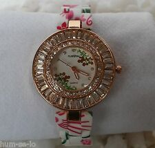 DESIGNER TRENDY LADIES WRIST WATCH- WHITE