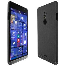 Skinomi Brushed Steel Skin+Clear Screen Protector for HP Elite x3