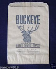 BUCKEYE MELLOW CHEWING TOBACCO PAPER BAG POUCH UNUSED