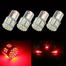 4pcs BA15S P21W 1156 Red Car Tail Stop Brake Light Super Bright 50 SMD LED Bulb