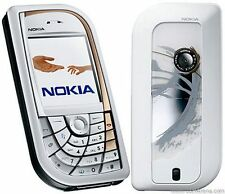 NOKIA 7610 MOBILE PHONE - UNLOCKED WITH A NEW HOUSE CHARGER AND WARRANTY.