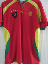 Cameroon 2000 Home Football Shirt Adult Size Large /40551
