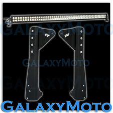 "97-06 Jeep TJ 50"" 300w 100x LED LIGHT BAR Combo Beam+Windshield Mount Bracket"