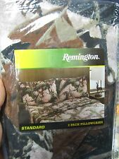 "2 Remington Pink Camouflage Pillowcases / Standard & Queen 20"" x 30"" / Pink Camo"
