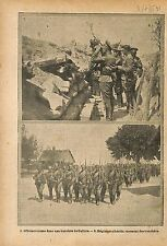 Soldiers Imperial Russia Army Galicia Poland Siberia  WWI 1915 ILLUSTRATION