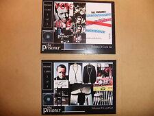 Patrick McGoohan el prisionero Vol 2 cartas promocionales de club de fans Set