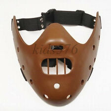 Silence of the Lambs Hannibal Lecter brown Resin Mask Collectable New