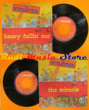 LP 45 7'' THE STYLISTICS The miracle Heavy fallin out 1975 italy AVCO cd mc dvd