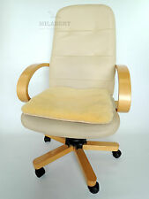 GENUINE MEDICAL SHEEPSKIN SEAT / NURSERY / WHEELCHAIR MAT - PAD QUILTED BASE