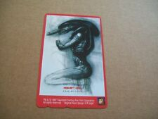 ALIEN SFX MONSTER RARE MINT UNUSED PHONECARD FROM JAPAN (22ND FEB)