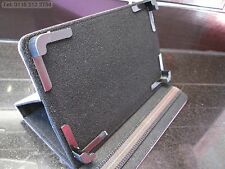"""Purple 4 Corner Grab Multi Angle Case/Stand for 7"""" Lynx Commtiva N700 Tablet PC"""