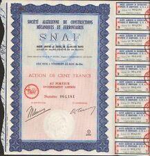 SNAF: Société Algérienne de Constructions Mécaniques & Ferroviaires (P)