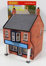 OO Gauge Hornby Skaledale R9711 Mainwarings TV Radio Shop