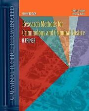 Research Methods for Criminology and Criminal Justice: A Primer (2nd Edition,...