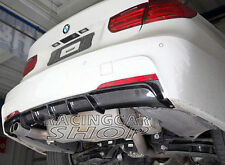 P Style Real CARBON FIBER REAR DIFFUSER FOR BMW F30 M-Sport bumper 320 328 B158
