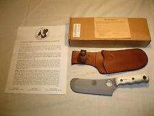 Knives of Alaska Brown Bear STAG Skinner/Cleaver Knife w/ Sheath/ Box/ Papers