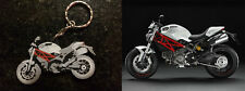 DUCATI MONSTER MOTORBIKE KEYRING KEY CHAIN ACCESSORY